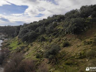 Puente de la Marmota - Parque Regional de la Cuenca Alta del Manzanares club escalada membranas impe